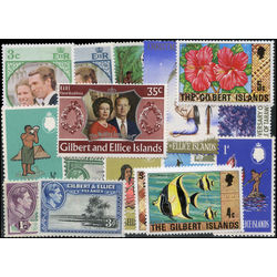 gilbert and ellice islands stamp packet