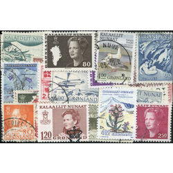 greenland stamp packet
