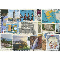 greece stamp packet