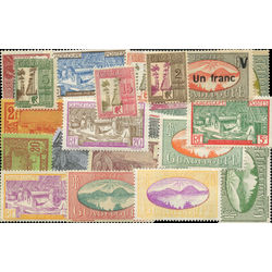 guadeloupe stamp packet