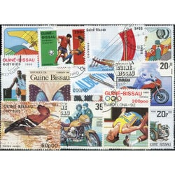 guinea bissau stamp packet