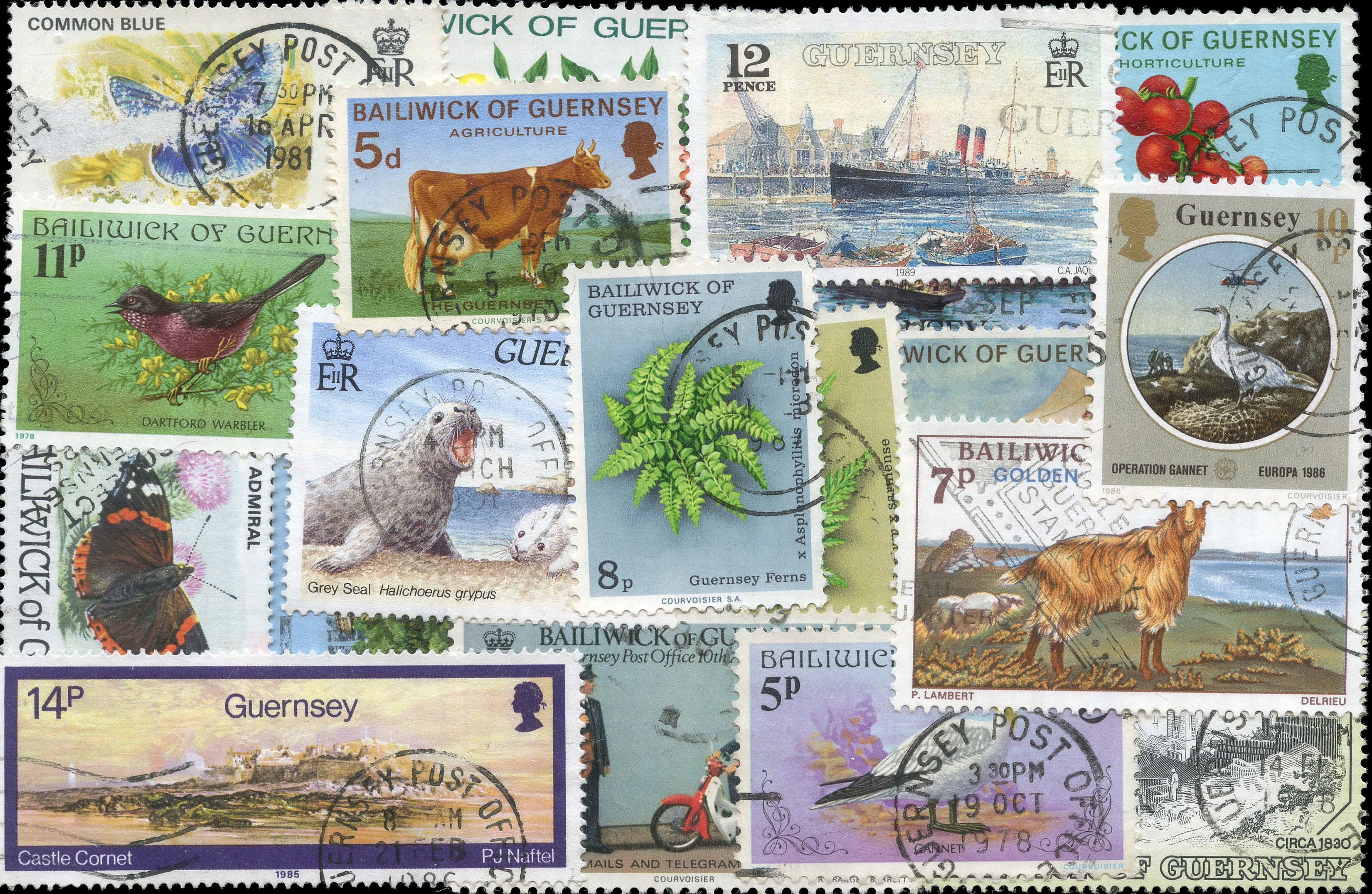 Buy Guernsey Stamp Packet Arpin Philately