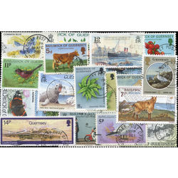 guernsey stamp packet