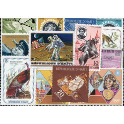 haiti stamp packet