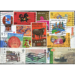hong kong stamp packet