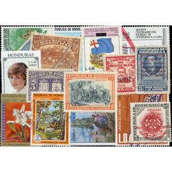 honduras stamp packet