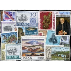 iceland stamp packet