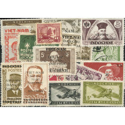 indo china stamp packet