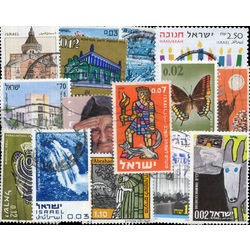 israel pictorials stamp packet