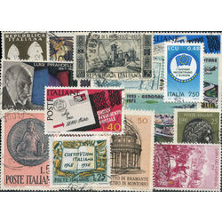 italian pictorials stamp packet