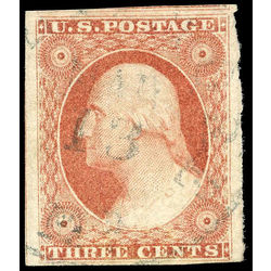 us stamp postage issues 11 washington 3 1851 u vf 001