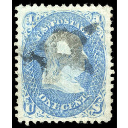 us stamp postage issues 63a franklin 1 1861
