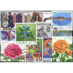 latvia stamps issued after 1991