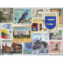 lithuania stamps issued after 1990