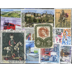 luxembourg stamp packet