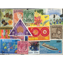 malaysia stamp packet