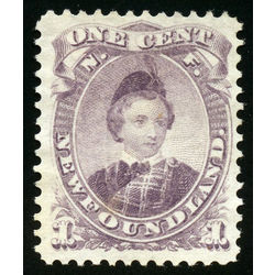 newfoundland stamp 32 edward prince of wales 1 1869