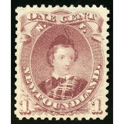 newfoundland stamp 32a edward prince of wales 1 1871