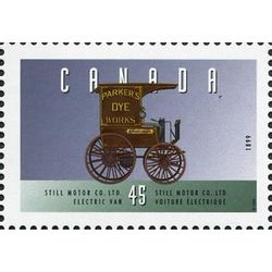 canada stamp 1604a still motor co ltd electric van 1899 45 1996