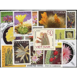 cactus on stamps