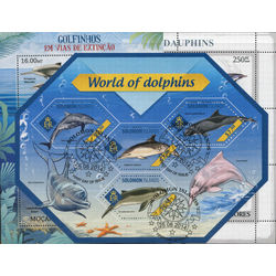 dolphins on stamps