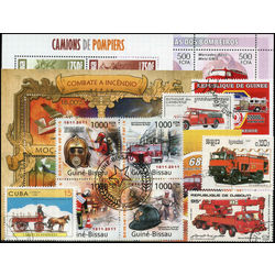 firemen on stamps