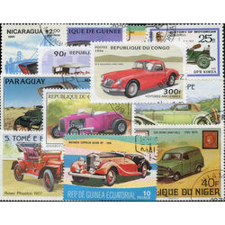 old cars on stamps