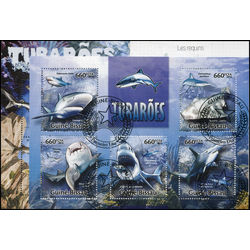 sharks on stamps