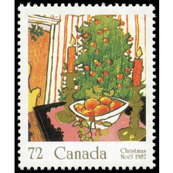 canada stamp 1150 mistletoe tree 72 1987