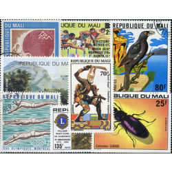 mali stamp packet