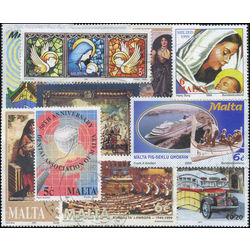 malta stamp packet