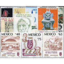 mexico stamp packet