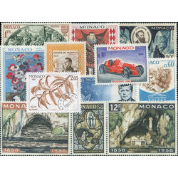 monaco stamp packet