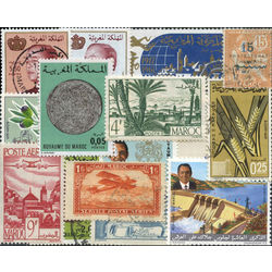 morocco stamp packet