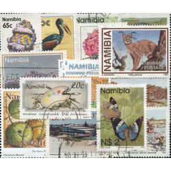 namibia stamp packet