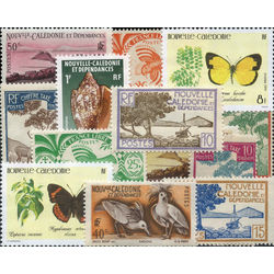new caledonia stamp packet