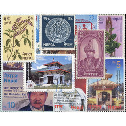 nepal stamp packet