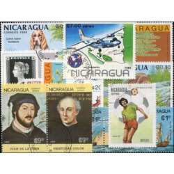 nicaragua stamp packet