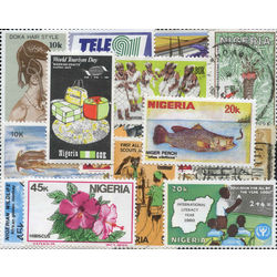 nigeria stamp packet