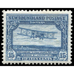 newfoundland stamp 180 first nonstop transatlantic flight 15 1931