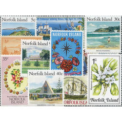 norfolk island stamp packet