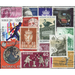norway stamp packet