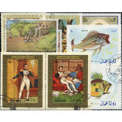 oman stamp packet