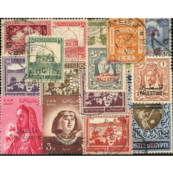 palestine stamp packet