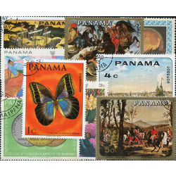 panama stamp packet