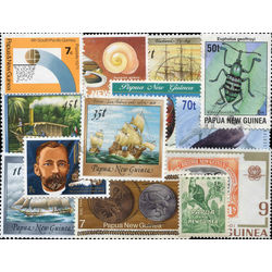 papua new guinea stamp packet