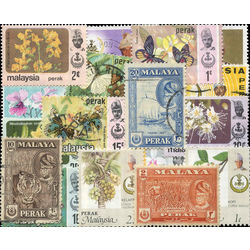 perak malay state stamp packet