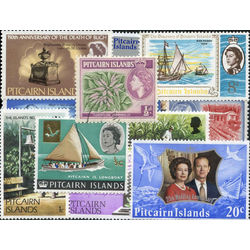 pitcairn islands stamp packet