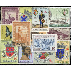 portuguese colonies stamp packet