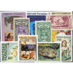 polynesia french stamp packet